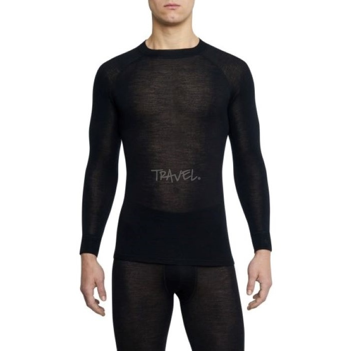 Thermowave Warm Męska Koszulka Black